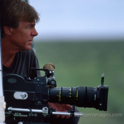 Adrian Warren Filming, Etosha National Park, Namibia