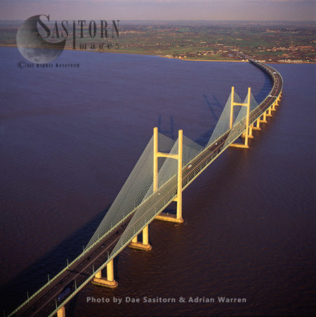 Second Severn Bridge, Gloucestershire, England