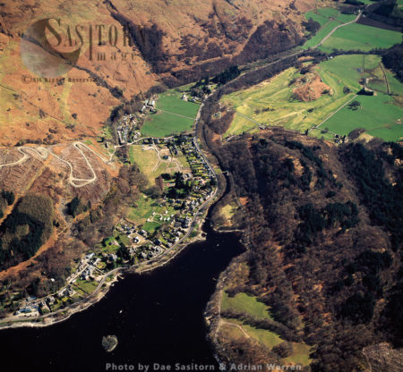 St Fillans And Loch Earn, Central Highlands Of Scotland