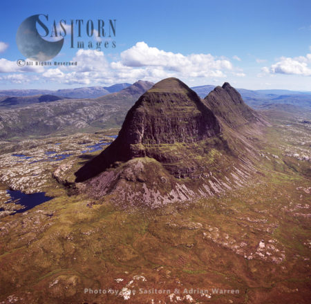 Suilven, Northwest Of Sutherland, Highlands