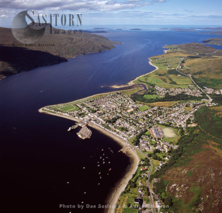 Ullapool, Small Town In Ross And Cromarty, Scotland