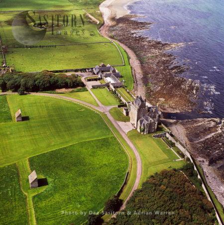 Ackergill Tower (Castle), Wick, Caithness, Highlands, Scotland