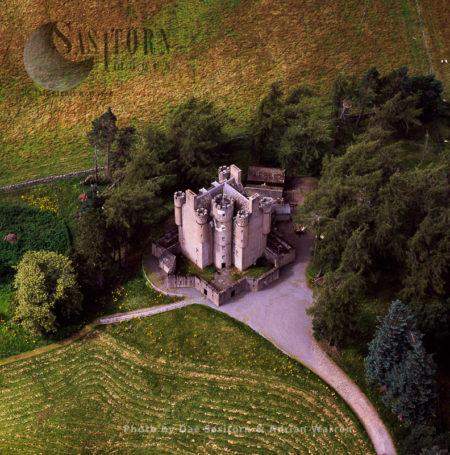 Braemar Castle, Braemar, Aberdeenshire, Highlands, Scotland