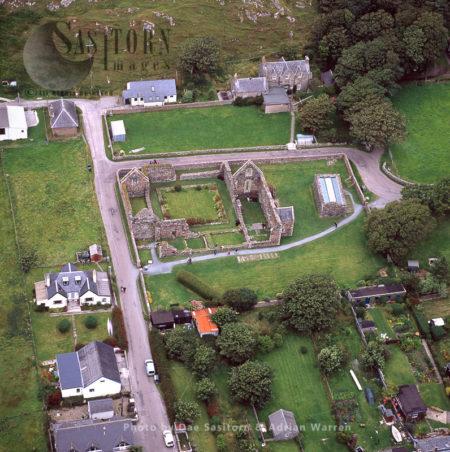 Benedictine Nunnery, Iona, Inner Hebrides, West Coast Scotland