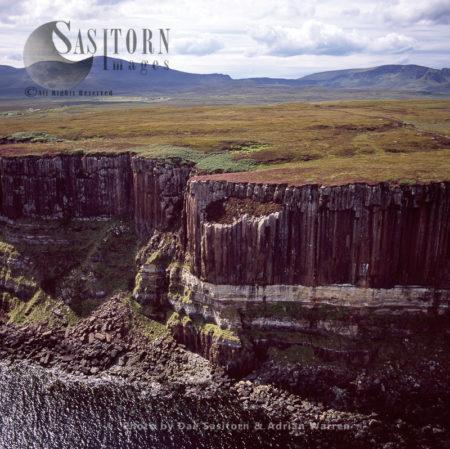 Basalt Cliffs - Isle Of Skye, Inner Hebrides, West Coast Scotland