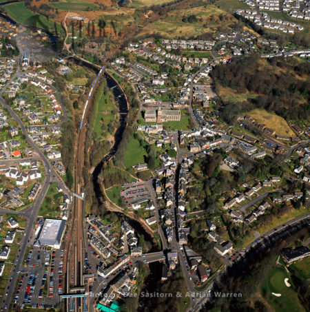 Dunblane, A Town In The Council Area Of Stirling, Entral Scotland