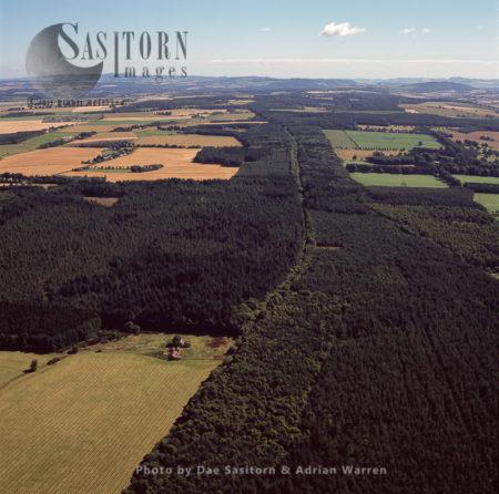 Gask Ridge Frontier (Roman), Perth & Kinross, Lowlands, Scotland