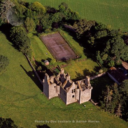 Glenbuchat Castle, A Historic Z Plan Scottish Castle, Kildrummy, Aberdeenshre