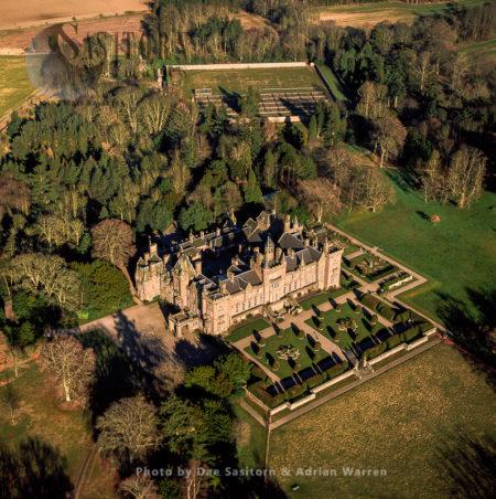 Kinnaird Castle, Farnell, Brechin, Angus