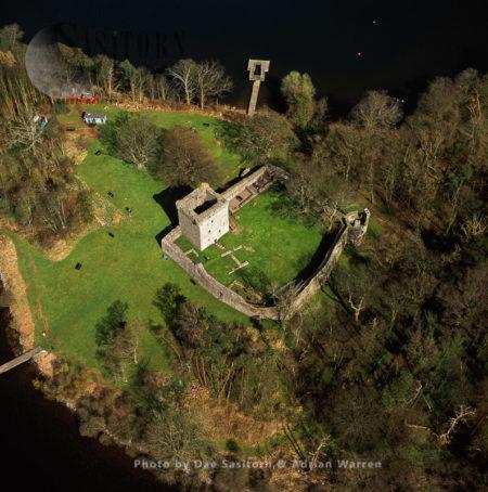 Loch Leven Castle (Lochleven Castle), A Castle On An Island In Loch Leven, Perth And Kinross