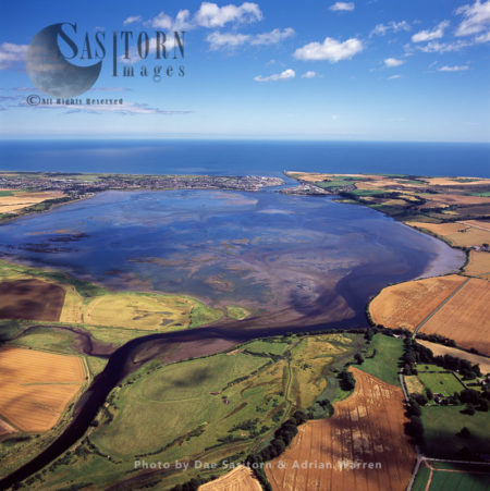 The Montrose Basin, Part Of The Estuary Of The South Esk, Montrose, Angus