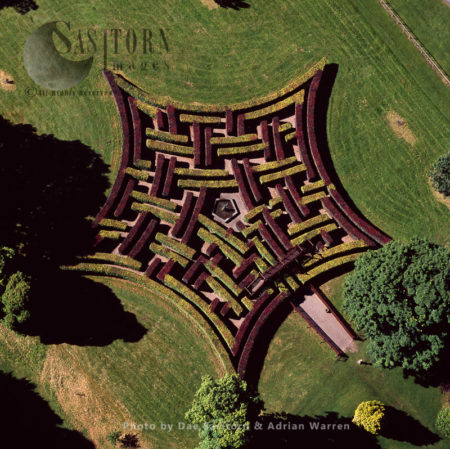 Maze At Scone Palace, Scone, Near Perth, Lowlands