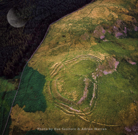 The Castles, An Iron Age Hill Fort, Sourhope, Scottish Borders