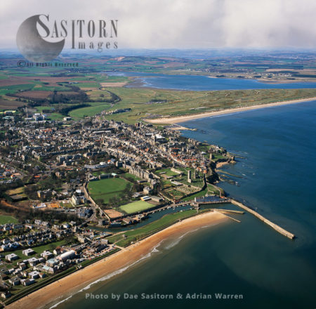 St Andrews, A Town And Former Royal Burgh On The East Coast Of Fife, Scotland