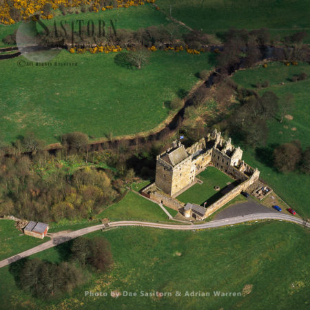 Balgonie Castle, East Of Glenrothes, Scotland