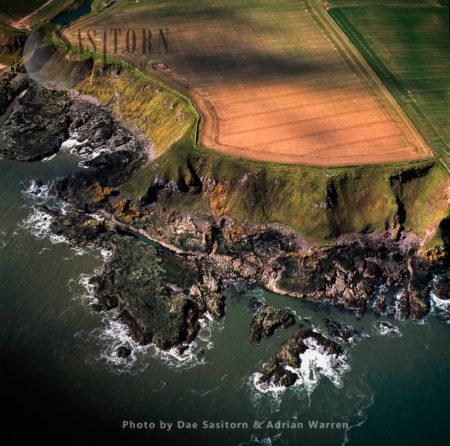 Cliffs At Lang Craig, Scotland