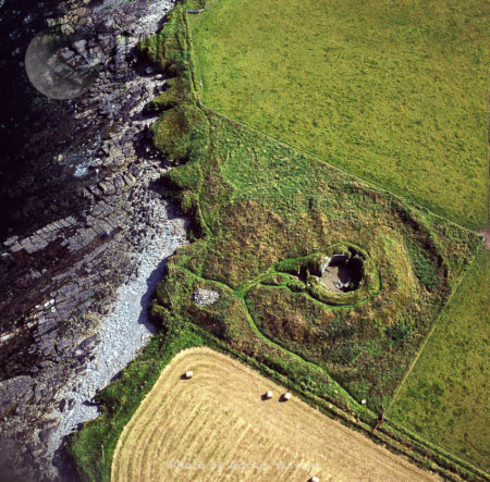 Burroughston Broch, An Iron Age Archaeological Site On The Island Of Shapinsay, Orkney,  Scotland