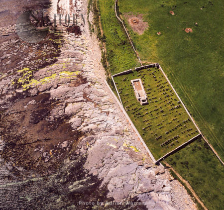 Old Church And Cemetery On Rousay Island, Orkney Islands, Scotland