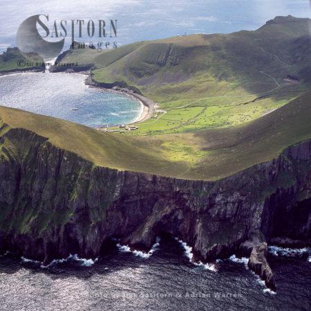 Volcanic Cliffs At Hirta, St Kilda , Outer Hebrides