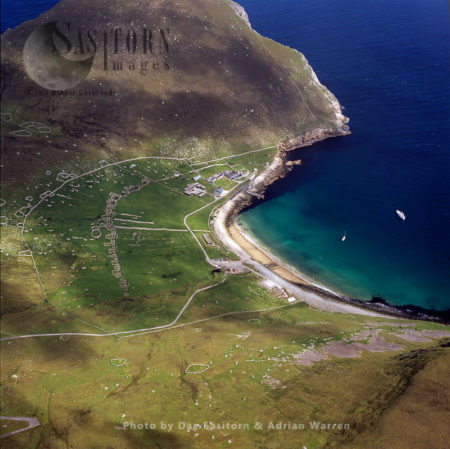 Village Bay, Hirta, St Kilda, West-northwest Of North Uist, Outer Hebrides, West Coast Scotland