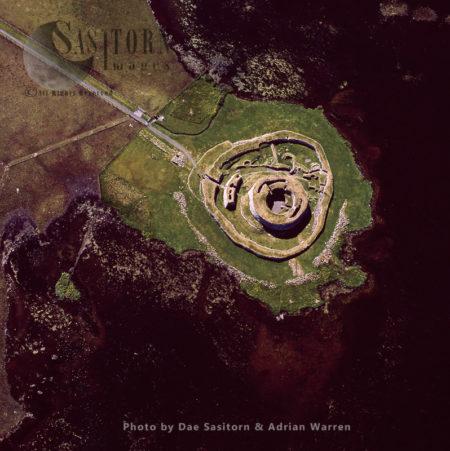 Clickhimin Broch, Shetland Islands, Scotland