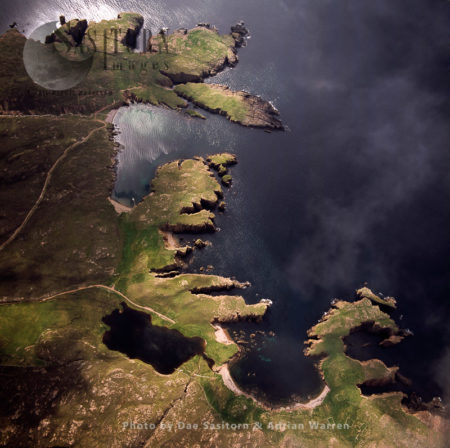 Muckle Roe Island, Saint Magnus Bay, To The West Of Mainland Shetland