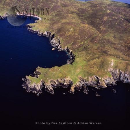 Point Of Hamna-ayre, Papa Little, Shetland Islands, Scotland