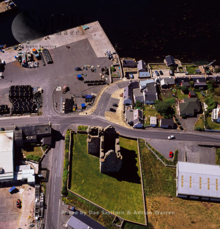 Scalloway Castle And Town, West Mainland, Shetland