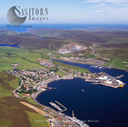 Scalloway, The Largest Settlement On The West Mainland, Shetland