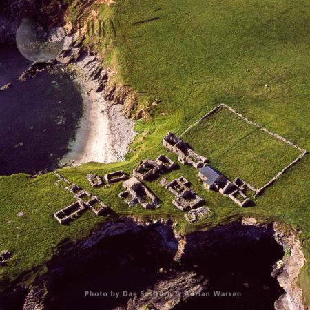 Ruin Village At South Havra, Now An Uninhabited Island, Scalloway Islands, Shetland