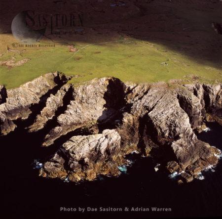 West Coast Of Yell, Shetland Islands, Scotland