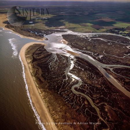 Salt Marsh At  Burnham Overy Staithe, Norfolk