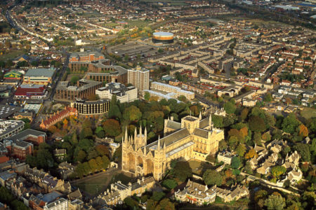 Peterborough Cathedral And City
