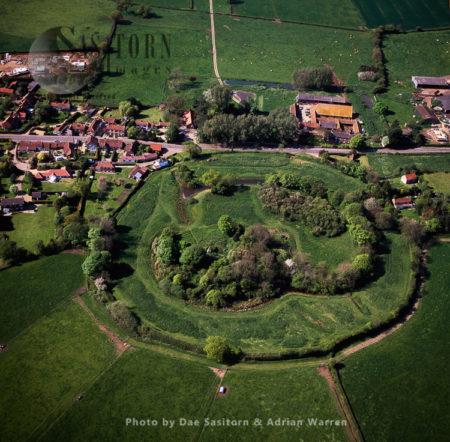 Mileham Castle, A Ruined Norman Castle, Norfolk