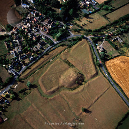 Yielden Castle, 12th Century Castle - Only Earthworks Remain, Bedfordshire