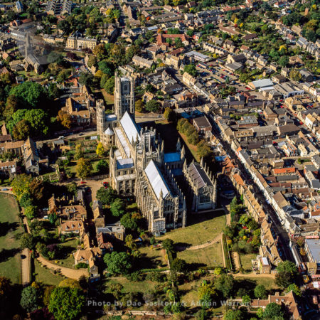 Ely City And  Cathedral, Cambridgeshire