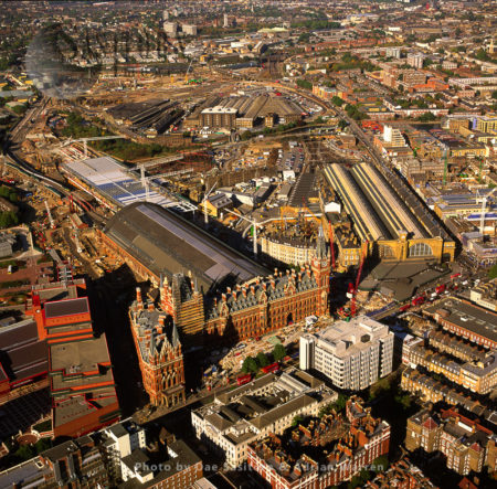 St Pancras Train And Underground Station, London