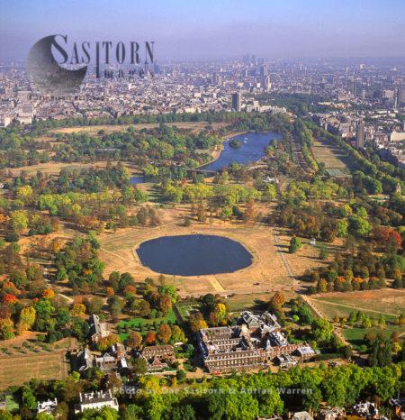Kensington Palace And Hyde Park, London