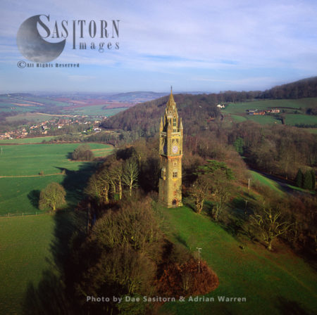 Abberley Hall Clock Tower, Worcestershire