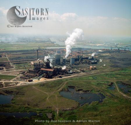 Teesside Steelworks, Tees Estuary, Cleveland
