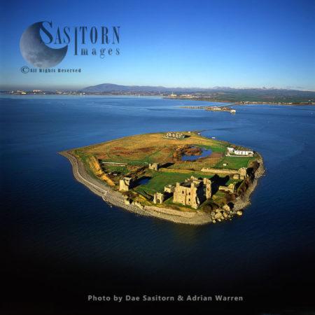 Piel Castle, Piel Island, Near Barrow In Furness, Cumbria,