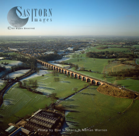 Holmes Chapel Railway Viaduct, Cheshire,