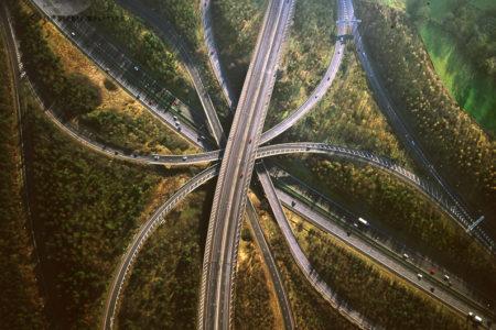 Motorway Junction: M25/M23 Junction, Surrey