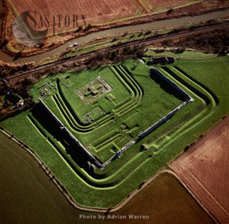 Richborough Castle, A Roman Fort, Kent