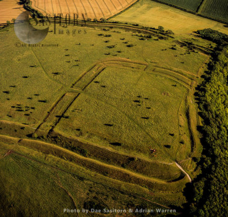 Hod Hill, Iron Age Hill Fort And Roman Camp, Dorset