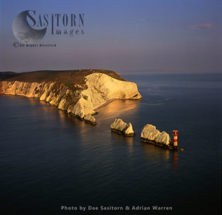The Needles And Lighthouse, Isle Of Wight