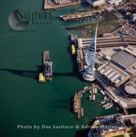 Spinnaker Tower, Portsmouth Harbour, Hampshir