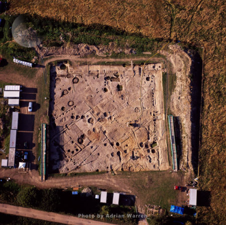 Archaeological Dig At Roman Town Of Calleva Atrebatum, Silchester, Hampshire