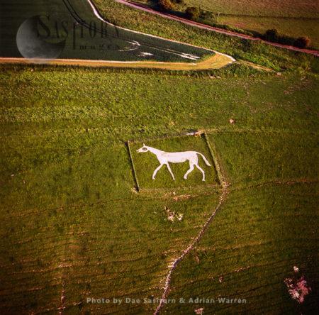 Pewsey White Horse, Wiltshire