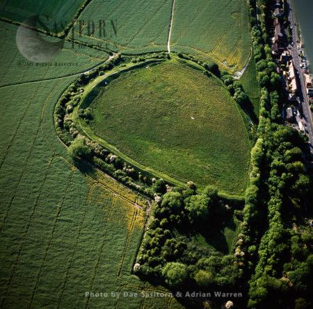 Spetisbury Ring Hill Fort, Dorset
